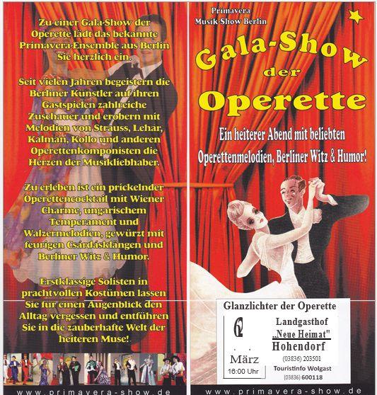 Gala-Abend der Operette